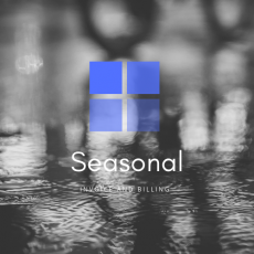 Seasonal Invoice and Billing