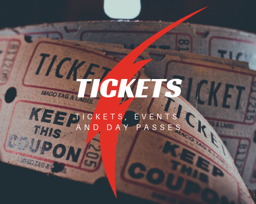 Tickets, Event and Day Passes